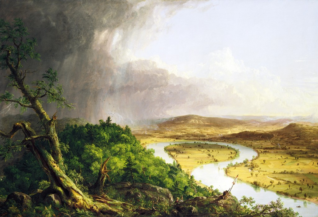 Thomas Cole - The Oxbow - 1836