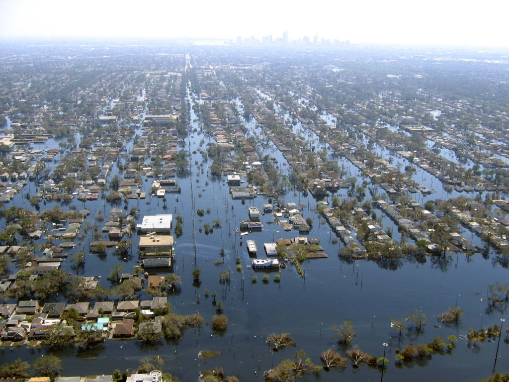 New Orleans flooding after Hurricane Katrina, 2005