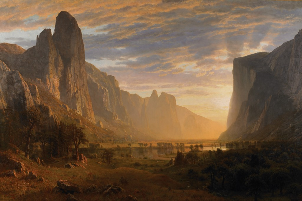 Bierstadt, Yosemite Valley